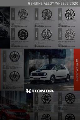 Honda Poster Alloy Wheels